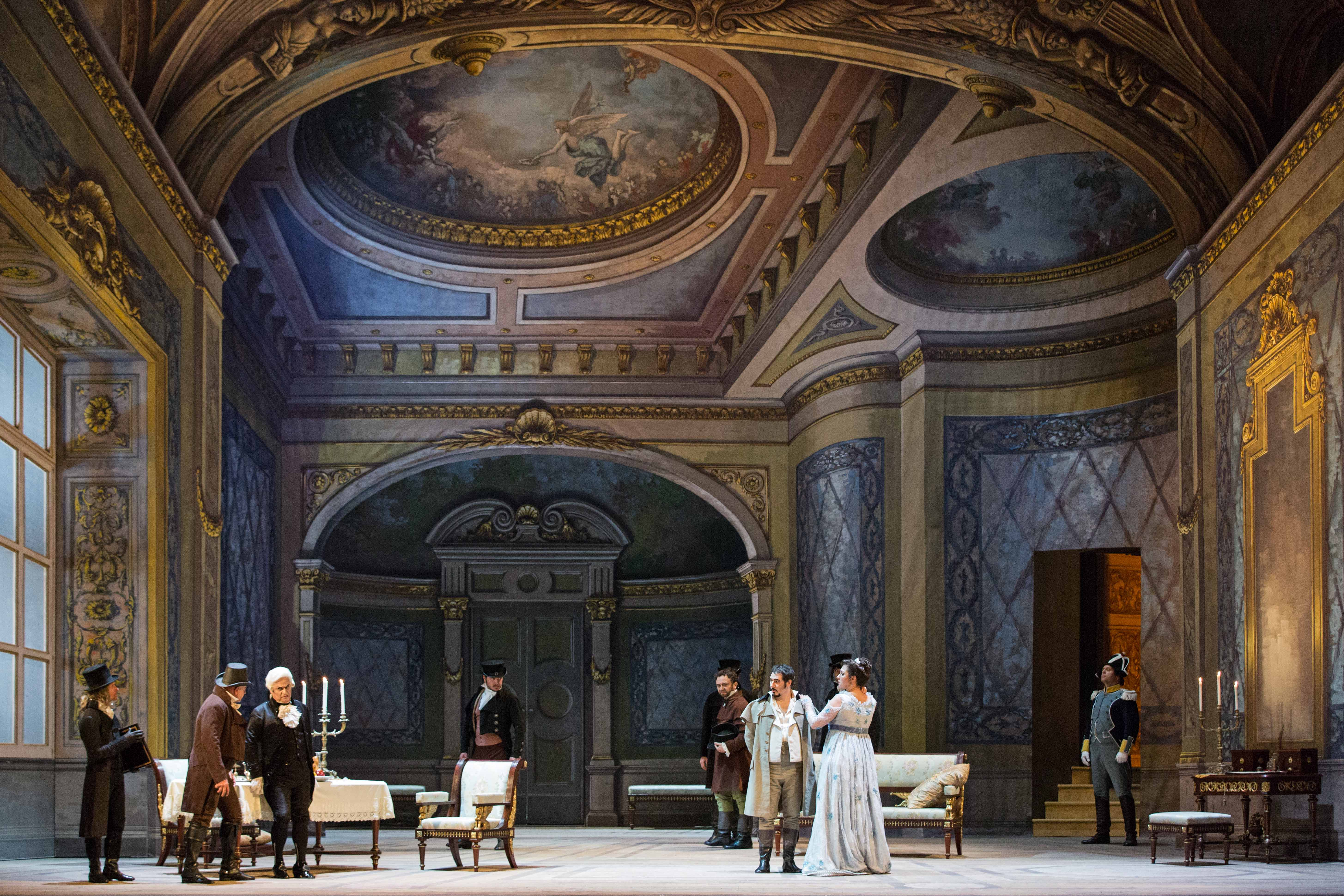 Tosca, Teatro dell'Opera di Roma, original staging