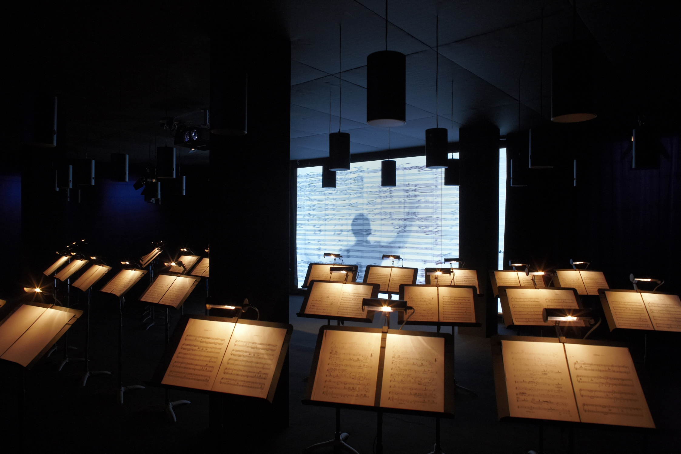 "Exhibition ""That's Opera"" interactive orchestra"